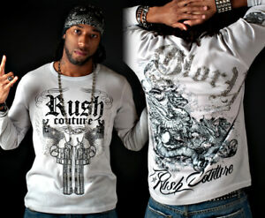 Rush Couture - Double Sixes Men's Long Sleeve