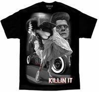 DGA David Gonzales Art Fresh Cut Killin It Greaser Tattoo Monster Mens Shirt