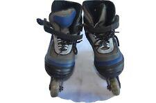 Inline Skates Adjustable Size 1-4 Cr2 Blue/ Gray