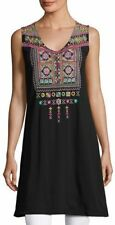 new rare JOHNNY WAS embroidered dita tunic blouse peasant dress 2x