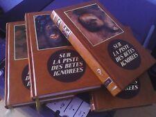 Les 4 tomes Sur la piste des bêtes ignorées/Bernard Heuvelmans/Editions Famot 82