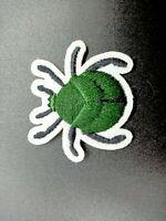 parche insecto escarabajo verde patch beetle aniaml ropa planchar naturaleza