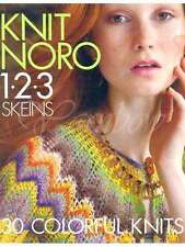 NORO ::Knit Noro 1-2-3 Skeins:: book Brand New 30 stunning projects!