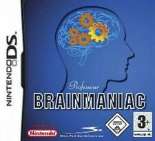 NINTENDO DS PROFESSOR BRAINMANIAC * Gehirnjogging *NEU