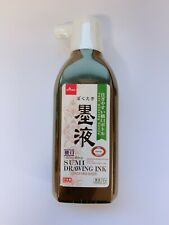 ☀DAISO Japanese SHODO Calligraphy Sumi Drawing Ink Bokuju 180ml Made In Japan