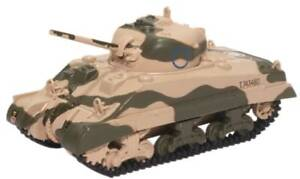 Oxford 1/76 Sherman Tank MK III 10th Armoured Division 1942 76SM001