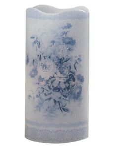 Victorian Trading Co Blue Danube Flameless Candle