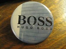 Hugo Boss Pocket Mirror - Repurposed German Designer Magazine Ad Lipstick Mirror