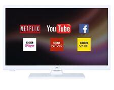 "JVC LT-24C661 24"" SMART WHITE LED TV HD READY FREEVIEW PLAY HD WI-FI HDMI USB"
