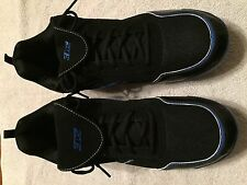 new with box men's 3N2 rally pulse metal black/royal baseball cleats size 14