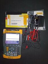Fluke ScopeMeter 192B 60MHz 500MS/S
