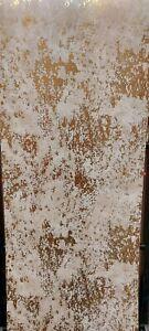 Metallic FX, Gold/Cream Textured Wallpaper