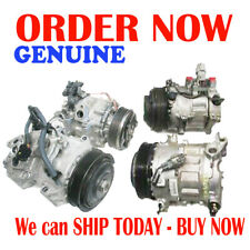 GENUINE A/C Compressor w/Clutch for Hyundai Accent & Kia Rio - GENUINE