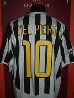 DEL PIERO JUVENTUS 2003/04 MAGLIA SHIRT CALCIO FOOTBALL MAILLOT JERSEY CAMISETA