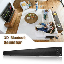 SOUNDBAR ALTOPARLANTE CASSA BLUETOO 3D STEREO HOME CINEMA THEATRE TV USB TF LED