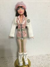 Barbie My Scene Delancey Doll Brunette Sparkling Hair Icy Bling Rare