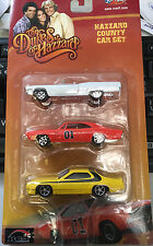 Joy Ride Dukes of Hazzard General Lee 1969 Dodge Charger 1:64 3 car set plymouth