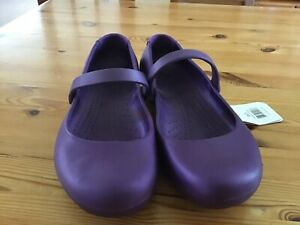 Crocs Alice in purple size 7 brand new with tags