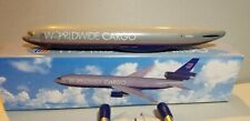 FLIGHT MINIATURE UNITED WORLDWIDE CARGO DC-10F 1:250 SCALE PLASTIC SNAPFIT MODEL