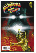 Big Trouble In Little China 8 A Boom 2015 VF NM Signed John Carpenter Sandy King
