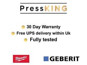 ⚡️Novopress Geberit Mapress Xpress Press Jaws Crimp 15mm M15 AcCO102 ACO103 ⚡️