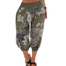 Womens Yoga Beach Harem Pants Baggy Boho Gypsy Hippie Wide Leg Loose Trousers