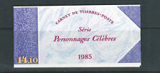 FRANCE 1985 AUTHORs complete booklet (Scott B572a) VF MNH