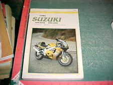1996 1997 1998 1999 SUZUKI GSX-R750 T V W 750X CLYMER SERVICE REPAIR MANUAL xlnt