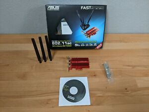 *No Antenna/Base* ASUS Dual-Band Wireless-AC1900 PCI-E Adapter (PCE-AC68)