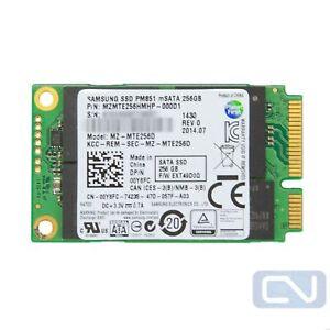 256GB mSATA 6Gb/s SSD Dell 0Y6FC PM851 Series Samsung MZ-MTE256D