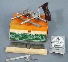 EXCELLENT STANLEY No 50 COMBINATION PLANE in BOX WITH CUTTERS Nr MINT CONDITION