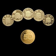 1 FULL SET = 5 COINS  MacCoins McDonald's BigMac 50th Anniversary