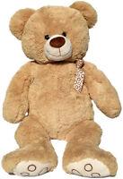 XXL TEDDYBÄR 100cm gross beige Plüschbär Teddy Stoffbär Plüsch Plüschtier Bär 1m