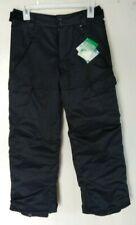 YOUTH BOYS BILLABONG CAB SNOWBOARD PANT Black cargo pocket size 12