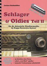 Harmonica-juego cuaderno sin notas: éxitos & oldies parte II-para Bluesharp