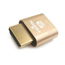 VGA Virtual Display Adapter HDMI 1.4 DDC EDID Dummy Plug Display Emulator HQ
