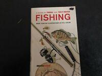 A Golden Guide to Fresh and Salt-Water FISHING Golden Handbook PB 1965 1st Ed.
