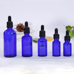 Empty AmberGlass Bottle Essential Oil Bottle Vial + Dropper Glass Eye Drop