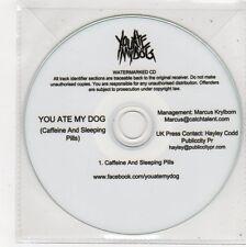(FE669) You Ate My Dog, Caffeine & Sleeping Pills - DJ CD