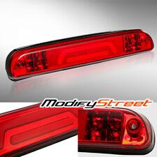 FOR 1993-2011 FORD RANGER BLACK RED 3D LED TUBE 3RD THIRD BRAKE LIGHT/CARGO LAMP