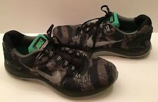 Mens Nike Lunarglide 5 Camo Shoes 599469-001 Size 13 Athletic Sneakers Running