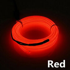 1-5M LED Car Interior Atmosphere EL Wire Neon String Strip Lights Rope Tube Lamp