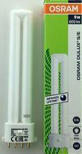 OSRAM 9W 4 pin 840 PLS Dulux-SE Biax-SE PL-S Lynx-SE 9 watt 2G7 cool white