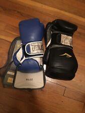 everlast boxing gloves Black 16oz Blue 8oz
