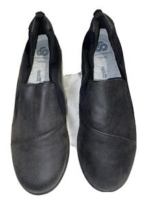 Clarks Sillian Paz Women's New Black Slip On'S Size 7.5/38