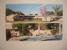VINTAGE POSTCARD TWIN VIEW OF THE FAIRWAYS MOTEL IN TWIN FALLS IDAHO UNUSED