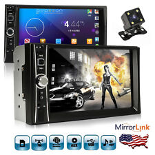 Car Stereo 7inch 2 Din Mirror Link for GPS Android Phone FM Radio NO DVD+Camera