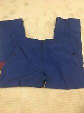 Xhiliration Boys Unisex Athletic Sports Track Pants Blue-Purple Size 13 Zip Fly