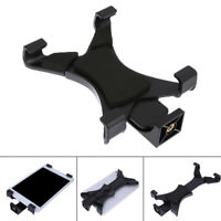 """Universal Tablet Clamp Tripod Mount Holder 1/4""""Thread Adapter for 7""""~10.1""""iPad"""