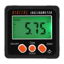 Angle meter, Precision Digital Protractor Inclinometer Level box, Digital An Q2F